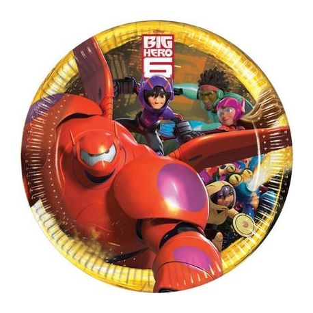 Piatti Big Hero 6 23cm 8 pz