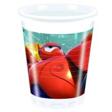 Bicchieri Big Hero 6 200ml 8 pz