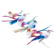 Decorazione uccellini multicolor