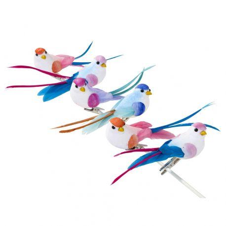 Decorazione uccellini mlticolor