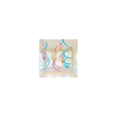 Decoro Spirali Multicolor