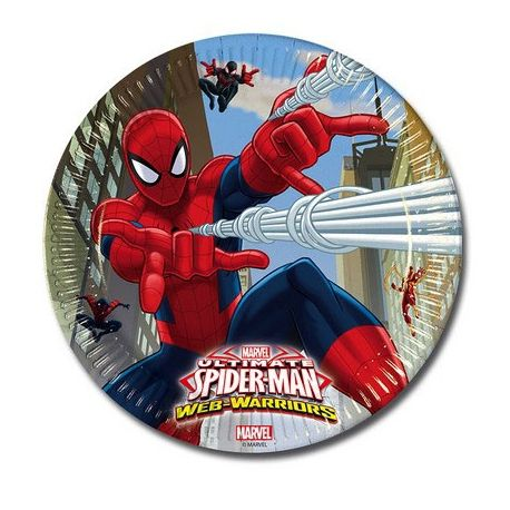 Piatti Ultimate Spiderman 23 cm