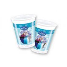 Frozen Ice Skating Bicchieri  di Plastica