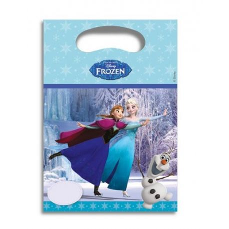 Festa Disney Frozen 6 Borsette Party