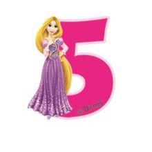 Candela Principesse 5 anni  Raperonzolo