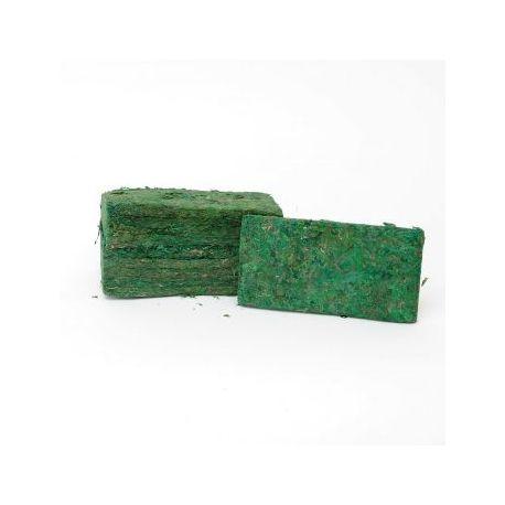 Confezione da 5 mattonelle muschio 20 cm