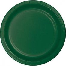 Piatti di carta verdi da 23 cm