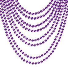 Collana di perle viola 2 pz