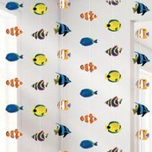 Decorazione pesci tropicali