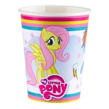 Bicchieri Carta My Little Pony Party Rainbow