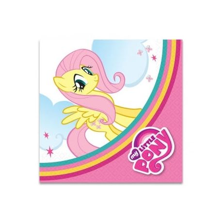 My Little Pony Party Rainbow Tovaglioli