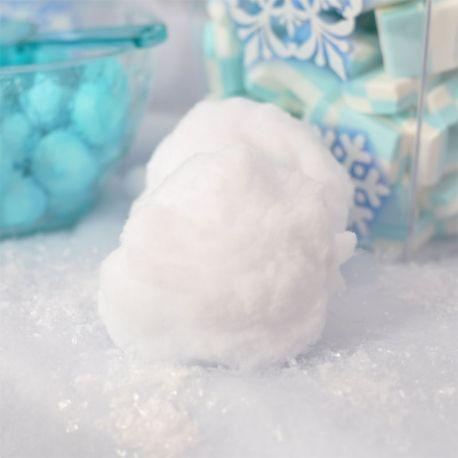 4 Sfere di neve artificiale da 10 cm