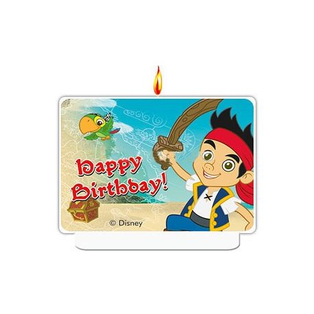 Candelina 9x7 cm  Torta Compleanno Jake