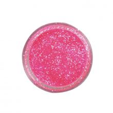 Zucchero Glitterato Rosa Fucsia