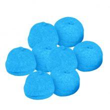 Palline di Marshmallow azzurre brillanti