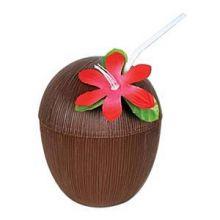Coppa in plastica a forma di cocco