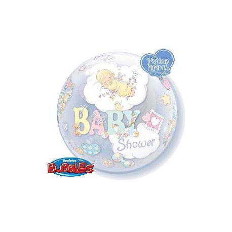 Palloncino Baby Shower tipo Bubbles