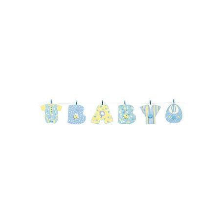 Festone Baby in cartoncino