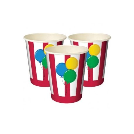 Festa Circo Bicchieri di Carta - Wimipops