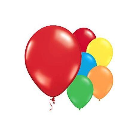 10 Palloncini colorati