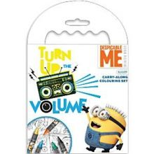 Minion Carry Along Set da colorare e pastelli