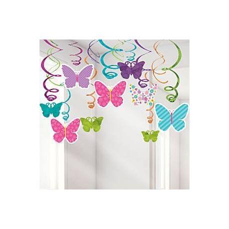 Decorazione pendenti con Farfalle