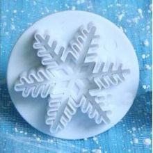 Stampo Fiocco di neve espulsione medio 3,5 cm