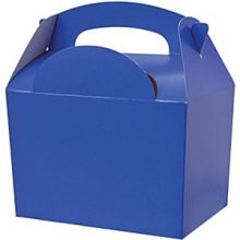 Scatola tipo food box color Blu