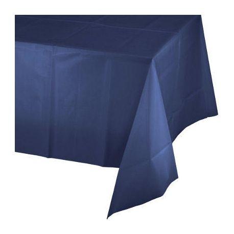 Tovaglia in plastica color  Blu