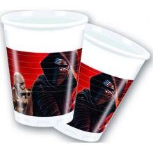 Festa Star Wars 8 Bicchieri plastica