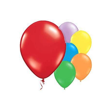 Palloncini colorati 10 pz Mix colori