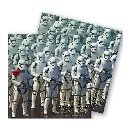 Festa Star Wars  Tovaglioli Cloni (20pz)