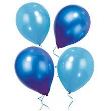 Mix Palloncini perlati Blu e Azzurri