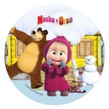 Cialda Masha e Orso Inverno