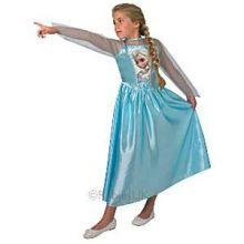 Frozen Costume Elsa Junior Rubies