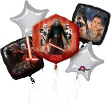 Bouquet Palloncini Star Wars  5 pz