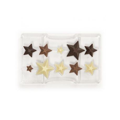 Stampo policarbonato per cioccolatini stella