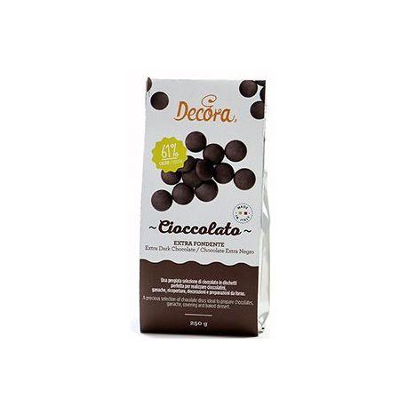 Cioccolato Fondente in dischetti 250 g