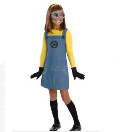 Costume Minion per Bambina e accessori