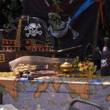 Pirata Party Tovaglia Isola del Tesoro