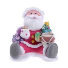 Babbo Natale con Regali - Decorazione zucchero