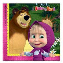 Masha e Orso Tovaglioli di carta (30 pz)