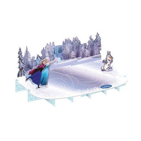 Frozen Ice Skating Alzatina  Dolci e tramezzini