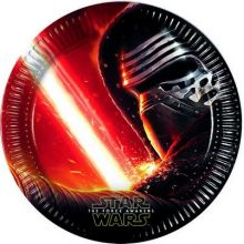 Festa Star Wars  Piatti 23 cm
