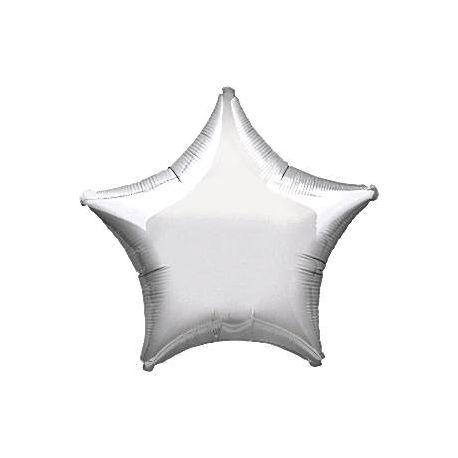 Palloncino Stella Argento 48 cm