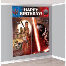 Star Wars Grande Scenografia Murale 180 cm