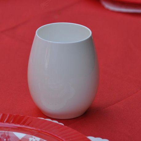 Bicchiere Bianco Policarbonato