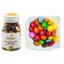 Decorazioni  Lenti al Cioccolato Colorate