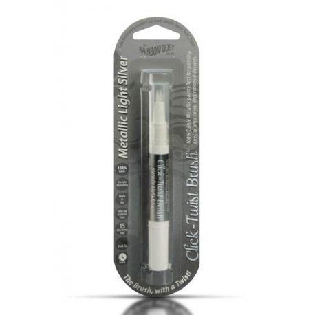 Pennello applicatore Argento metallizzato