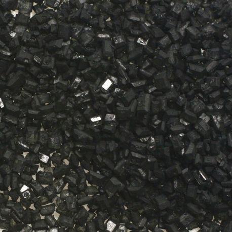Cristalli di zucchero neri